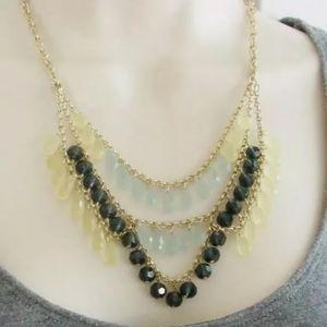"Lia Sophia ""Refresh"" 16-18"" adj necklace, NWT"